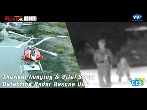 TTRobotix RevealONE - Thermal Imaging & Vital Signs Detecting Radar Rescue UAV