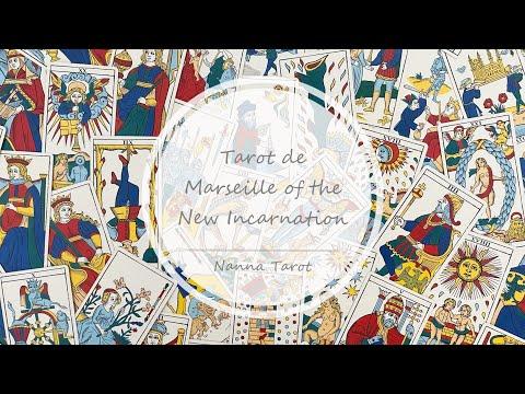 開箱  新化身馬賽塔羅牌 • Tarot de Marseille of the New Incarnation // Nanna Tarot