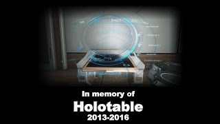 In memory of Holotable