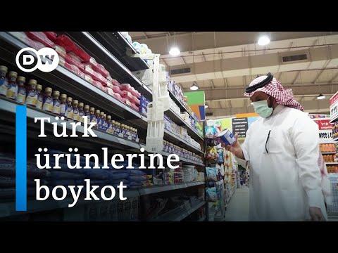 Suudi Arabistan'da Türk ürünlerine boykota süpermarket zincirleri de katıldı - DW Türkçe