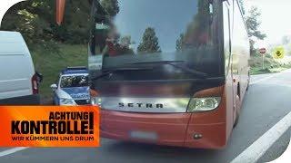 Eine der am meisten genutzten Flüchtlingsrouten: Reisebuskontrolle! | Achtung Kontrolle | kabel eins