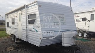 1999 FOUR WINDS 26B LITE TRAVEL TRAILER OHIO CAMPER RV DEALER NOT JAYCO www.homesteadrv.net