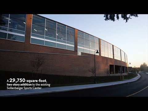 Tour the Messiah College Sollenberger Sports Center and Falcon Fitness Center