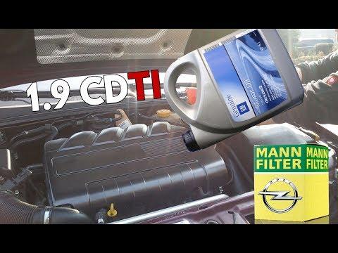 [Z19DTH] 1.9 CDTI Engine Oilchange 🔧