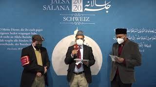 Interview With Walid Tariq Tarnutzer, President Ahmadiyya Muslim Jamaat Switzerland Jalsa Salana2020