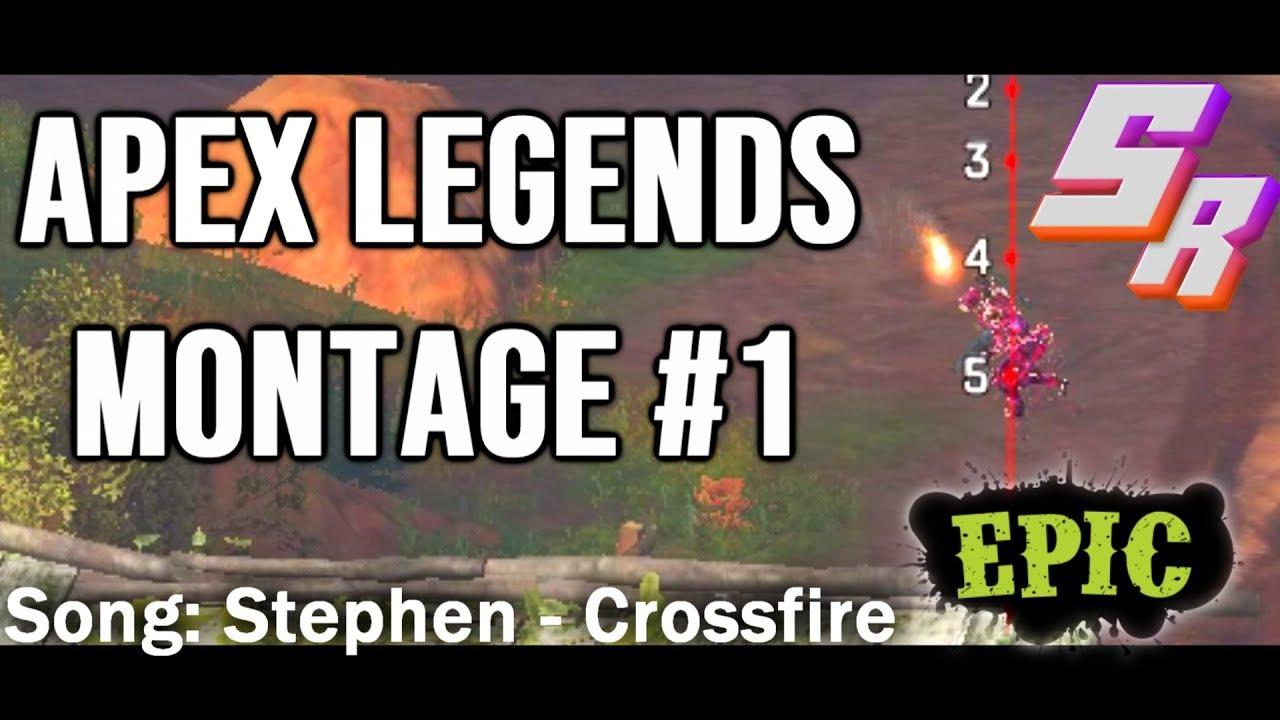 Snake Rox - Apex Legends Montage #1 [Crossfire]
