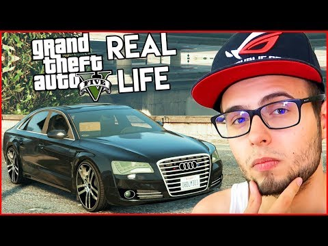 Mi-am cumparat un Audi A8L pe GTA Real Life!