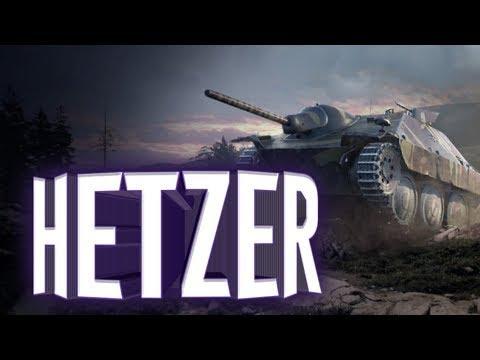 WoT Blitz Hetzer на что способен этот танк, обзор немецких пт .