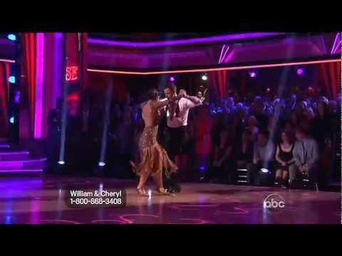 "Tango""Buttons"" DWTS14 - Cheryl Burke and William Levy."