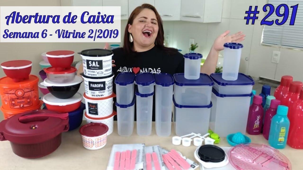 Abertura De Caixa Tupperware Semana 6 2019 Youtube