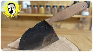Messer selber bauen aus einem Sägeblatt [Almazan style]