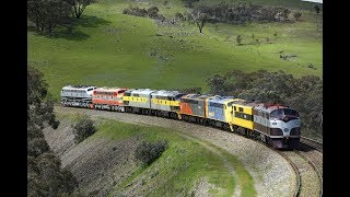 Streamliners Australia 2016 - part 2 -  movement of locomotives from Parkes to Goulburn