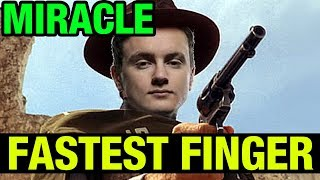 FASTEST FINGERS OF DOTA - MIRACLE- SNIPER - Dota 2