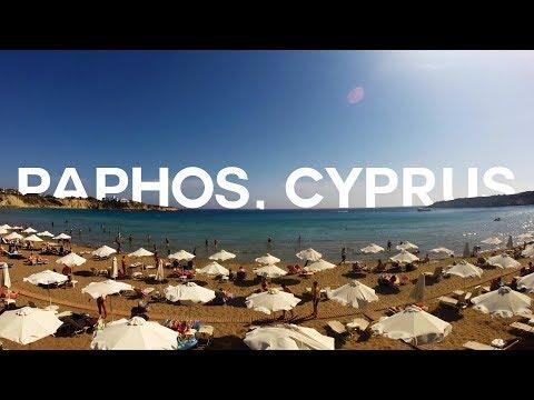 PAPHOS, CYPRUS - TRAVEL VLOG 2017