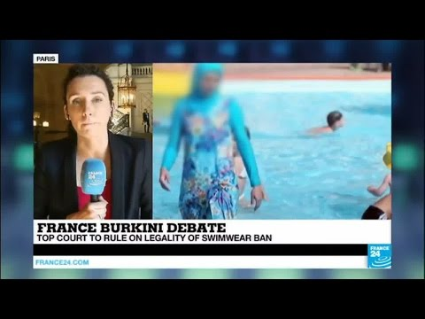 France burkini debate: top court to rule on legality of muslim swimwear ban
