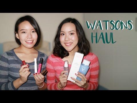 屈臣氏大採購,Watsons Haul | Live an Insight