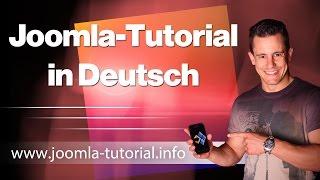 Joomla Tutorial in Deutsch