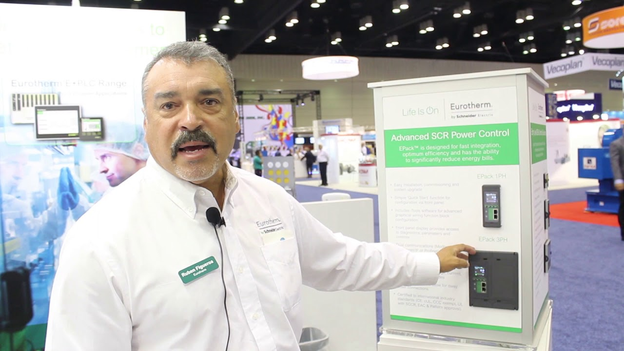 Steven R. Schroeder, Sr. Business Development Manager PAC / E+PLC y  Rubén Figueroa, Channels Manager North America de Eurotherm