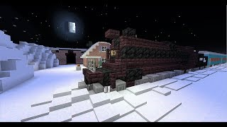 Minecraft - New Polar Express Ride replica
