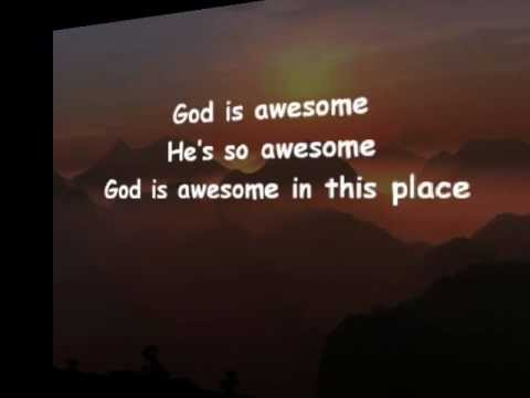 Awesome in this place - hillsong