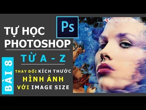 Photoshop CC 2015: Thay đổi kích thước hình ảnh với Image Size trong Photoshop - Bài 8