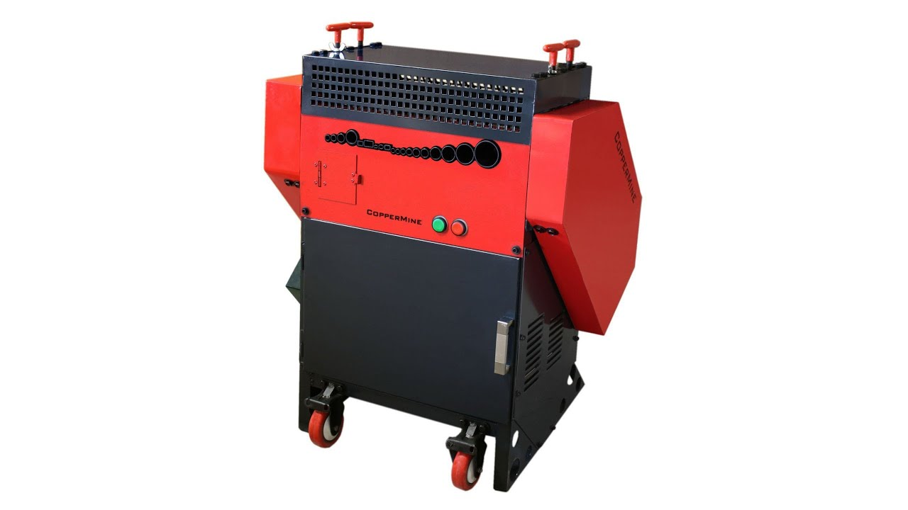 CopperMine Wire Stripping Machine Model 500 for Scrap Metal and ...