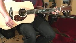 Martin D12X1AE 12 String Guitar [SOUND SAMPLES]