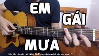 Em Gái Mưa - Hương Tràm [Guitar hướng dẫn]