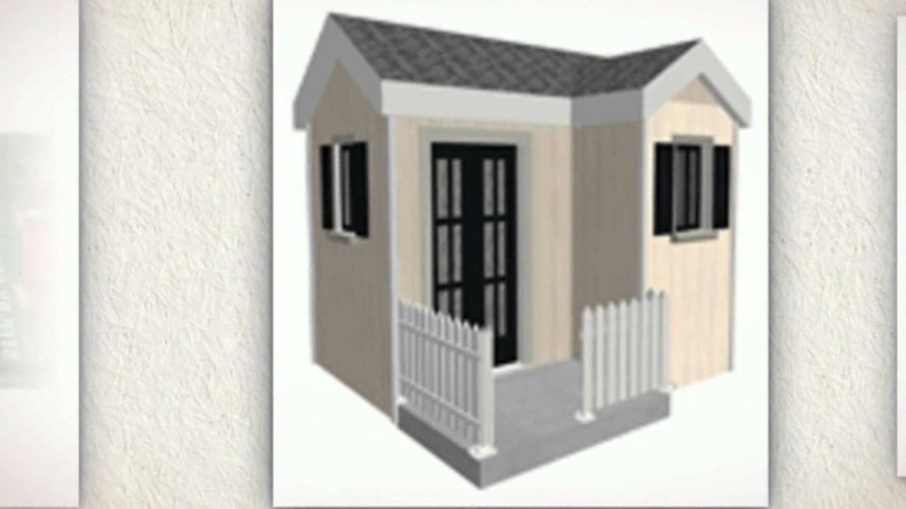 free outdoor playhouse plans youtube