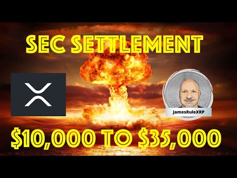 Boom! $10,000 - $35,000 XRP after SEC Lawsuit and Regulatory Clarity 👊😎