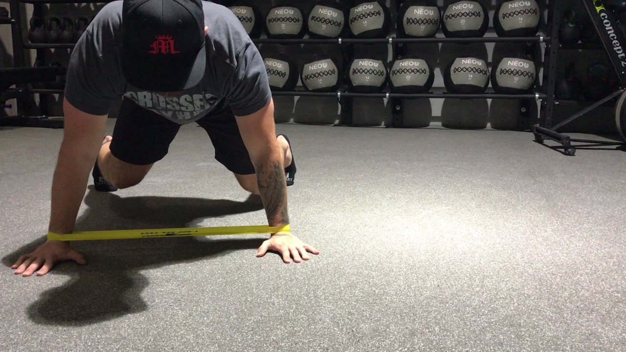 Image result for Miniband lateral bear crawl