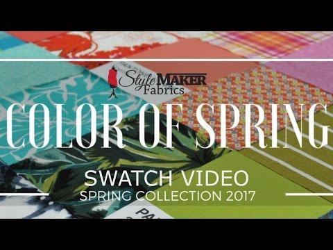 Style Maker Fabrics Spring Fabrics 2017
