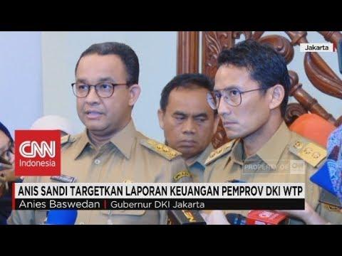 "Tegas! Anies-Sandi Targetkan Laporan Keuangan DKI ""Wajar Tanpa Pengecualian"""