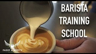 Paddy and Scott's barista training school thumbnail