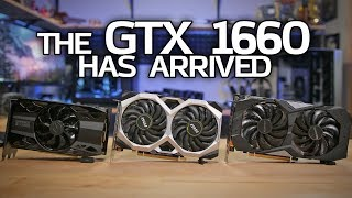 GTX 1660 BENCHMARKS vs RX 590, GTX 1060 & 1660 Ti!