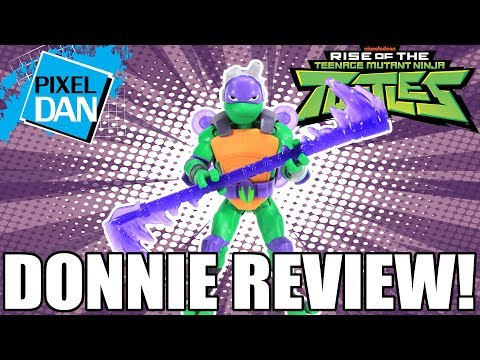 Donatello Rise Of The TMNT Action Figure Video Review