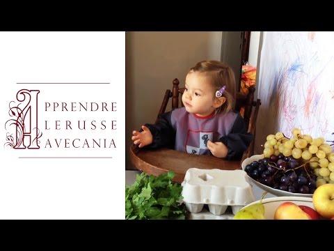 Fruits, légumes et autres provisions : Alice revient du marché ... Продукты