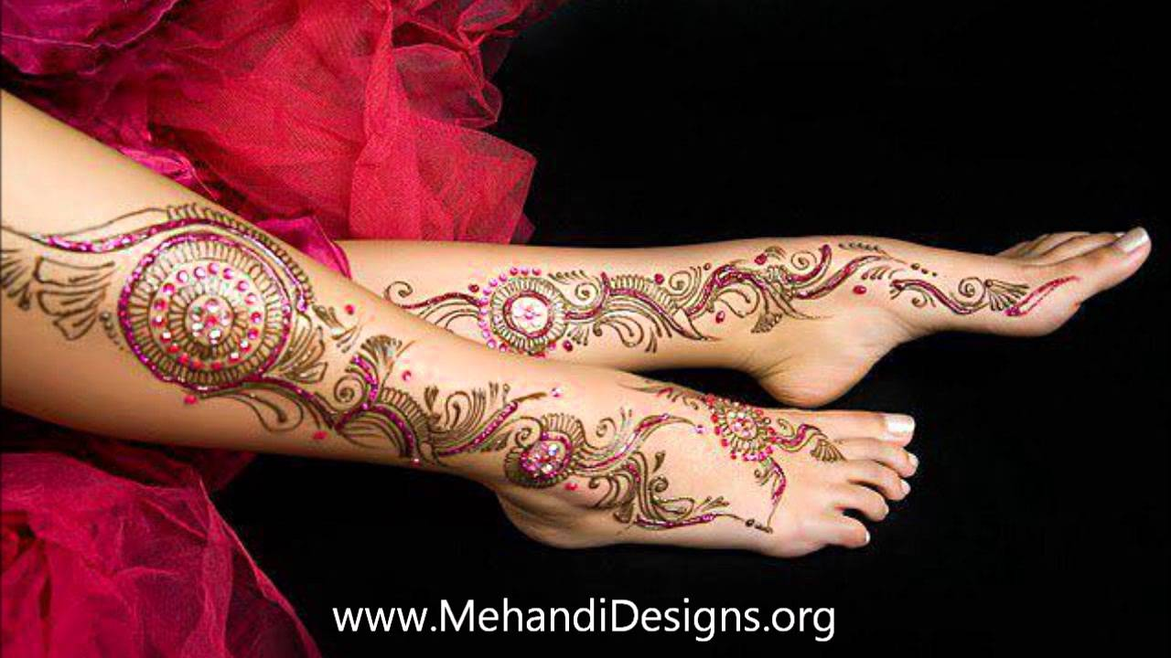 Easy Mehndi Ideas : Simple and easy mehndi designs for hands legs set youtube