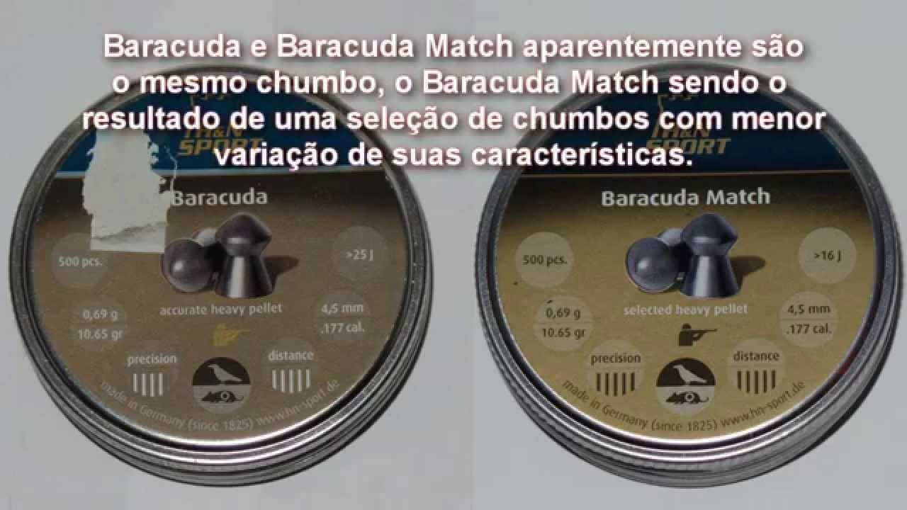 f9a6c55fb Pellets Info and Tests Part 8: H&N Baracuda & Baracuda Match .177 (AT44)