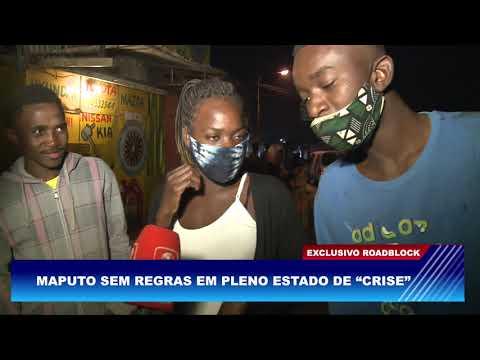 """MAPUTO SEM REGRAS EM PLENO ESTADO DE """"CRISE"""""""