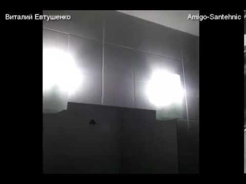 Покраска керамической плитки в ванной комнате. Pintar cuarto de baño