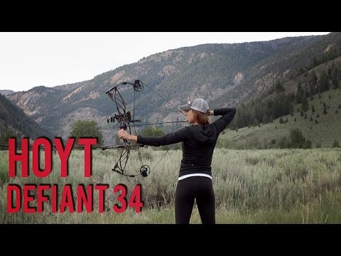 Sighting in my Hoyt Defiant 34 | Compound Bow