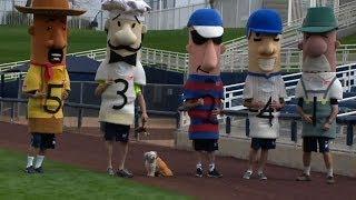 Hank The Dog Runs His First Sausage Race
