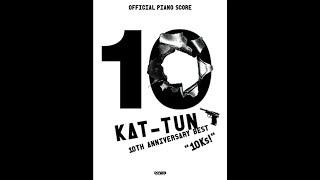 【KAT-TUN】MOON(GarageBandを使ってみた)