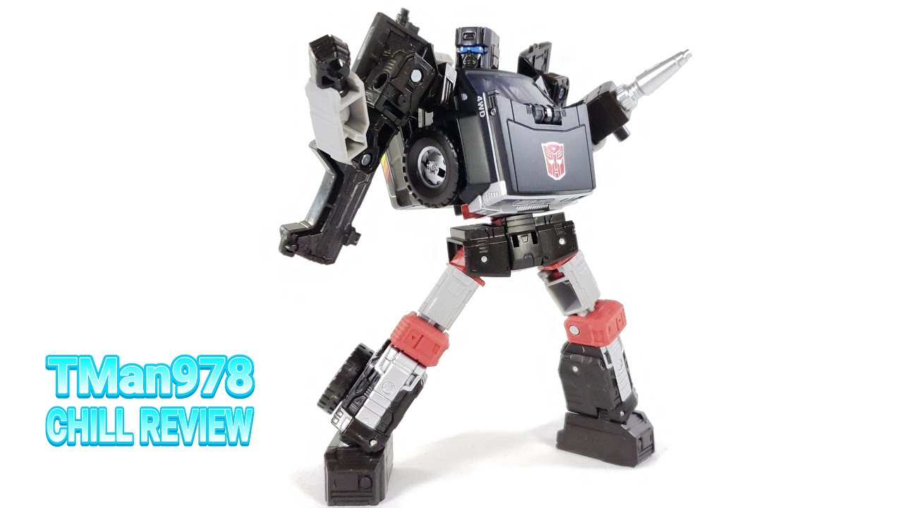 Transformers Earthrise Trailbreaker CHILL REVIEW