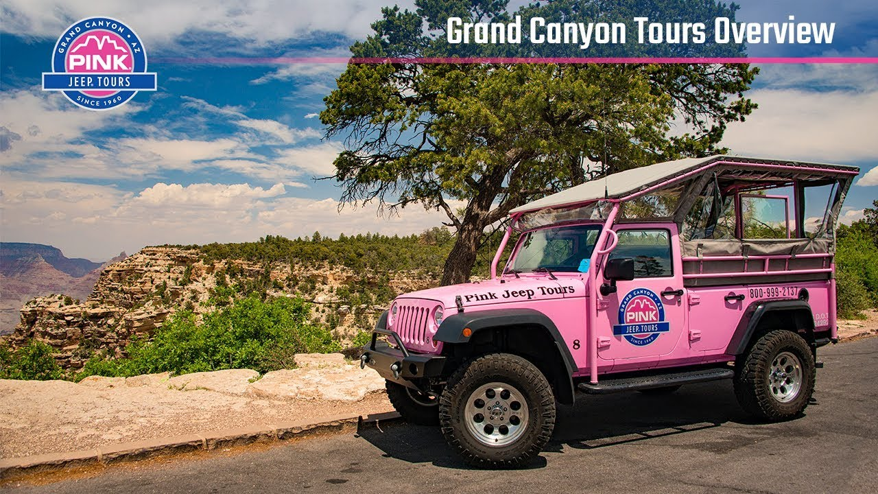 Grand Canyon South Rim Tours, Guided Jeep Tours | Pink Jeep Tours