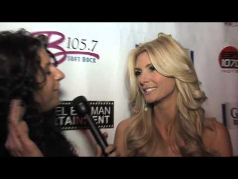 Brande Roderick At The Aces And Angels Super Bowl Party 2012