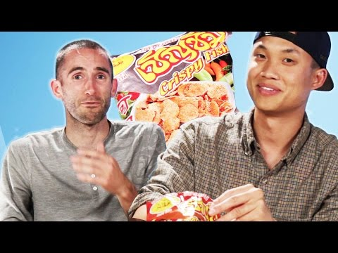 Americans Try Thai Snacks
