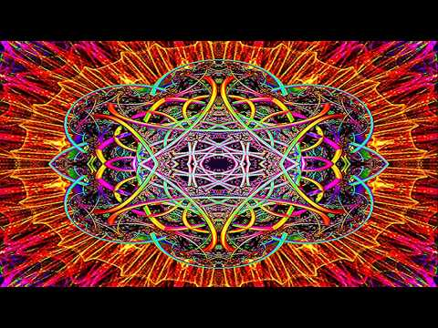 Layered Solid on Quilt Abstract Fractal Art HD *Visual Effects Classical Music*