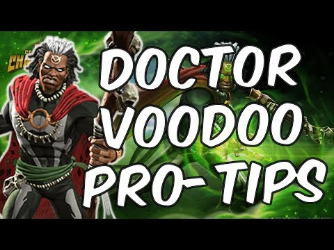 Doctor Voodoo Pro-Tips - Champion Guide + Gameplay - Marvel Contest Of Champions